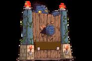 Tombstone headstonetile legend ape