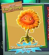 Flor de Fuego desbloqueada