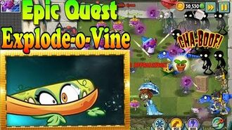 Plants vs. Zombies 2 - Explode-o-Vine - Full Epic Quest - Level Up (Ep.546)