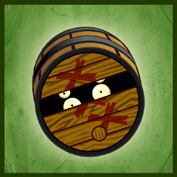 PvZ2 Pirate Barrel