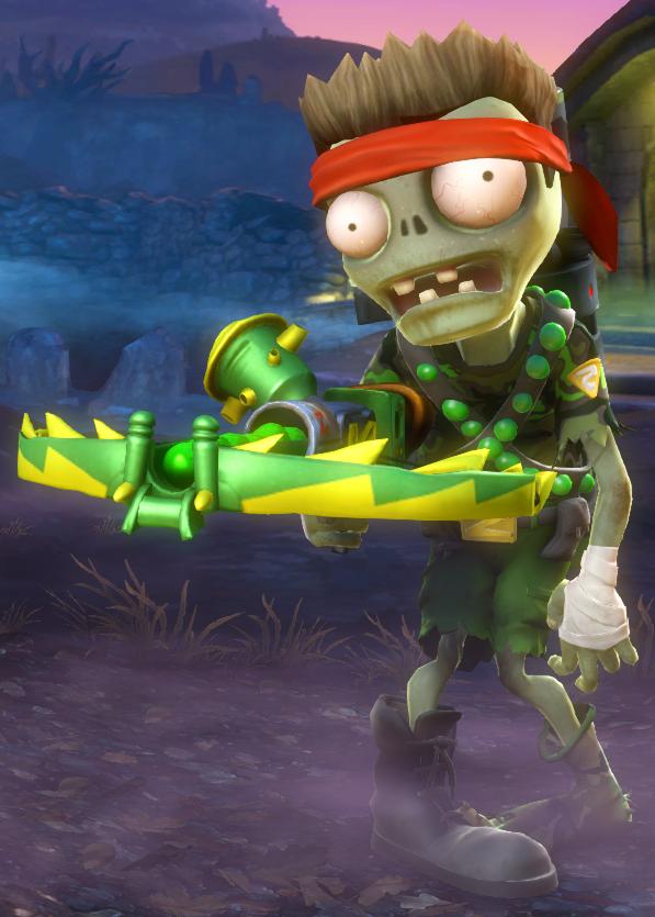 Super Commando | Plants vs. Zombies Wiki | FANDOM powered by Wikia