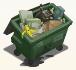 Urban dumpster