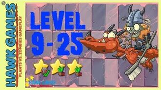 V1.0.81 Plants vs. Zombies All Stars - Viking World Level 9-25 BOSS