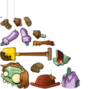 Excavator Zombie PvZH