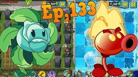Plants vs. Zombies 2 Premium Plants - Hurrikale - Fire Peashooter Premium Plant Quest (Ep