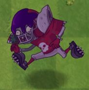 Poisoned Football Zombie 1