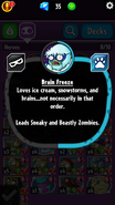 Brain Freeze Description