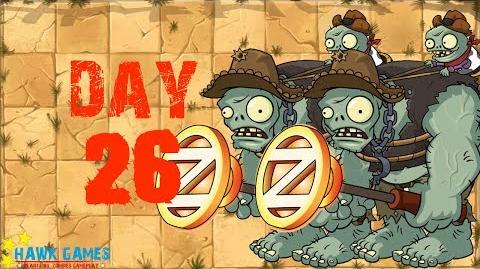 Plants vs Zombies 2 - Wild West - Day 26
