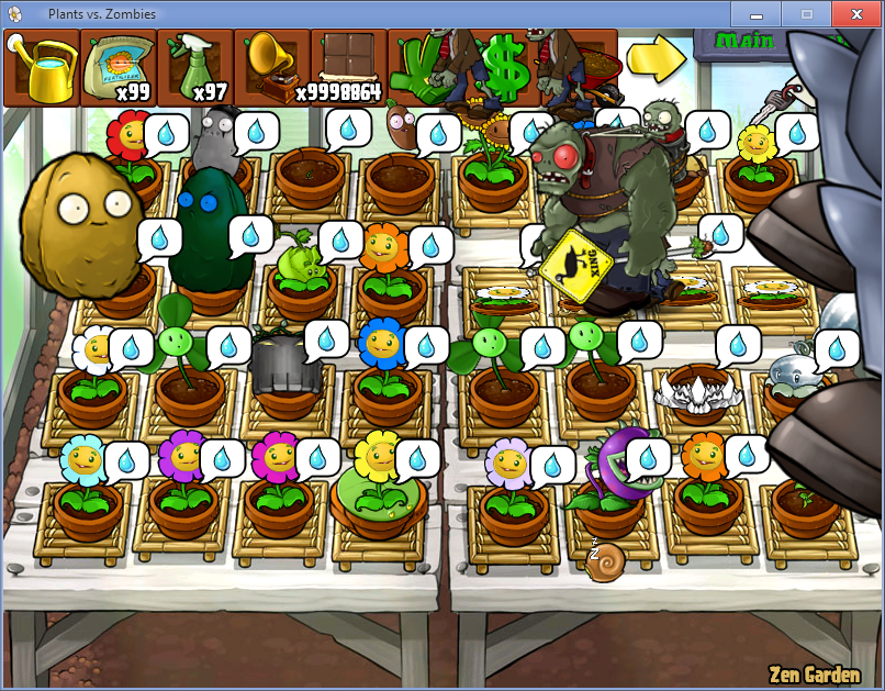 Coloring Pages For Plants Vs Zombies : Image zengardenzombossgigagarg plants vs zombies wiki