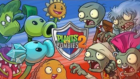 Battlez Gameplay Walkthrough Trailer Plants vs. Zombies 2
