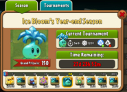 Ice Bloom's Year-End Season Prize Map
