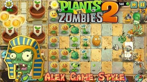 Plants vs. Zombies 2 Unlocked Zen Garden Ancient Egypt Day 6 (Ep