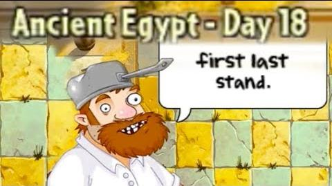 Ancient Egypt Day 18 - Plants vs Zombies 2 Its About Time