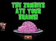 All-Star Zombie eating brains