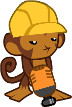 Monkey Engineer Icon