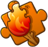 Torch Puzzle Piece Level 4