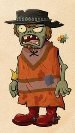 Poncho Zombie Concept Art