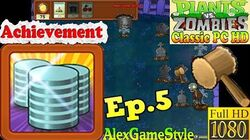 Plants vs. Zombies - Achievement Penny Pincher - Classic PC HD (Ep