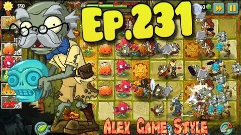 Plants vs. Zombies 2 New Turquoise Skull Zombie - Lost City Day 27 (Ep