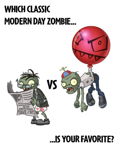 fileballoon zombie vs newspaper zombiepng