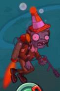 Hypnotized Conehead Pilot Zombie