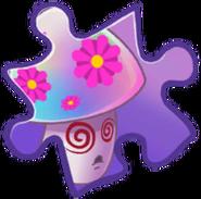 Hypno-shroom Puzzle Piece