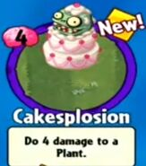 Receiving Cakesplosion