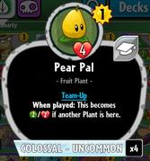 Beta Stats Pear Pal