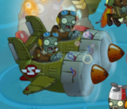 Hypnotized Double Cabin Aircraft Zombie