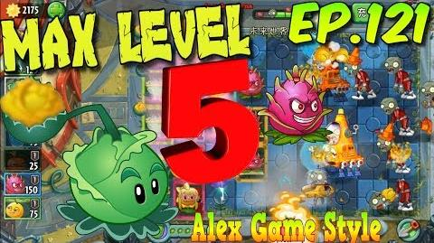 Plants vs. Zombies 2 (China) - Cabbage-pult MAX 5 level Gold Cabbage Far Future Day 7 (Ep