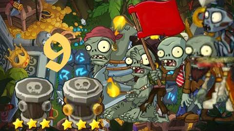 PvZ Online - Adventure Mode - Treasure Island 9