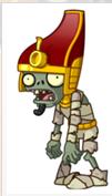 Zombi faraon fuera del sarcofago