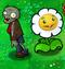 Giant Marigold obok zombie