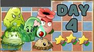 Plants vs Zombies 2 China - Renaissance Age Day 4