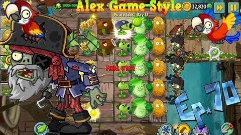 Plants vs. Zombies 2 New Pirate Captain Zombie Pirate Seas Day 13 (Ep
