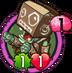 Cardboard Robot ZombieH