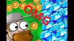 OMG! Gem and coin bug! Plants vs zombies 2 ( 6)