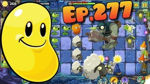 Plants vs. Zombies 2 Sun Bean - Produce at least 5000 sun - Dark Ages Night 14 (Ep