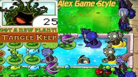 Plants vs. Zombies Adventure Got a Tangle Kelp level 3-3 Pool (Android Gameplay HD) Ep