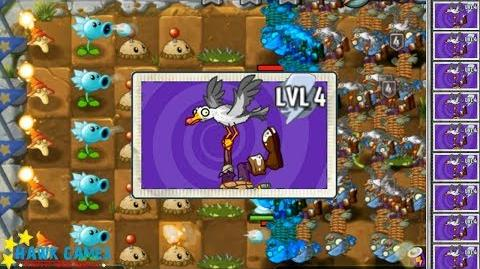 Plants vs Zombies 2 I, Zombie - Seagull Zombie Zombie vs Plants 4-0