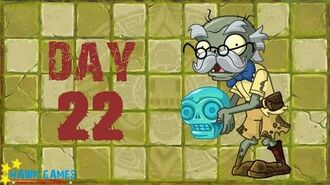Pre-1.8 Plants vs. Zombies 2 China - Lost City - Day 22