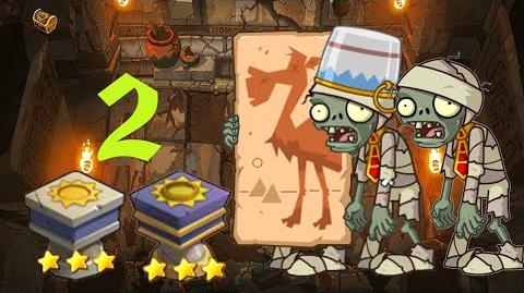 PvZ Online - Adventure Mode - Pyramid of Terror 2