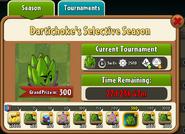 Dartichoke's Selective Season Prize Map