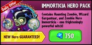 Immorticia Hero Pack