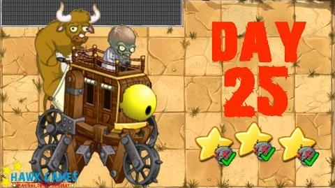 Plants vs. Zombies 2 China - Wild West Day 25 BOSS《植物大战僵尸2》- 狂野西部 25天