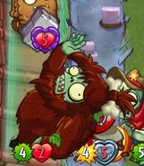 Unevolved Primeval Yeti Attack