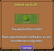 Dartichoke Unlocked