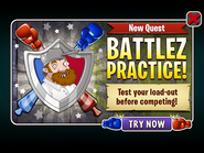 New Quest - Battlez Practice