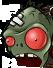 Zombie gargantuar head2 redeye