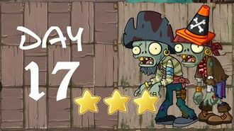 Android Plants vs. Zombies All Stars - Pirate Seas Day 17